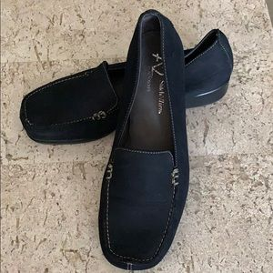 A2 by Aerosols Navy Suede Super Soft Loafers